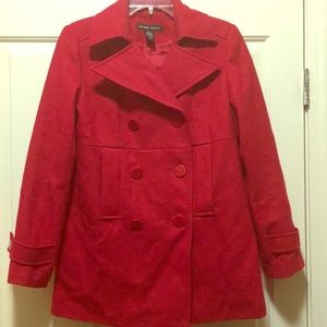 Red New York & Company Coat